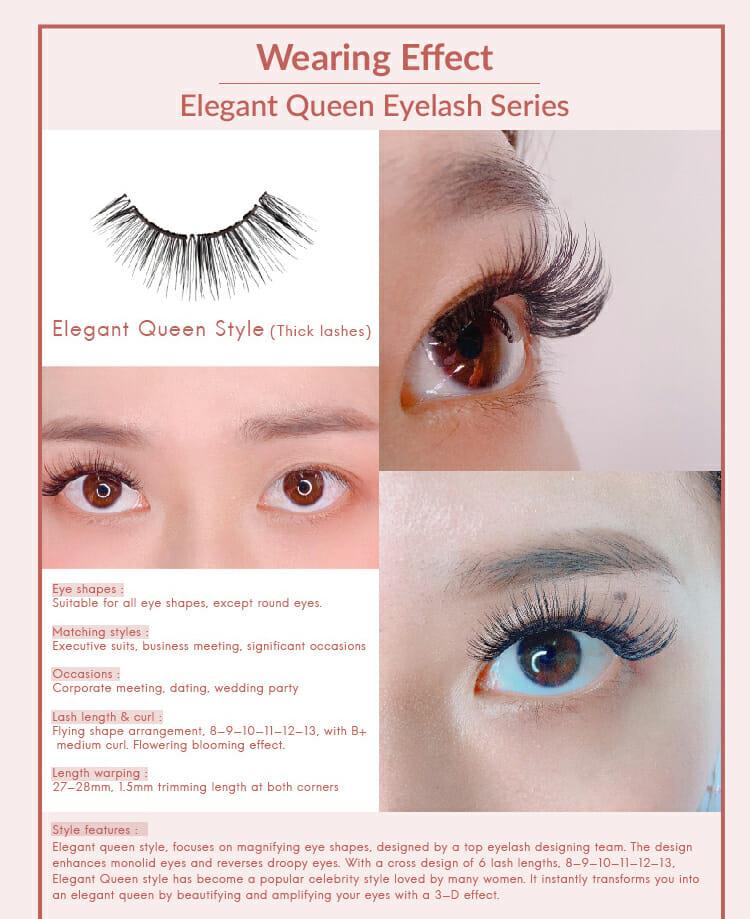 Elegant Queen Series,Exclusive VIP Set A - Elegant Queen,MLEN,MLEN Magnetic Eyelashes