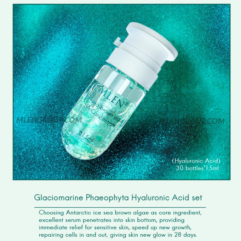 mlen group mlen exclusive vip set b glaciomarine phaeophyta hyaluronic acid set 3