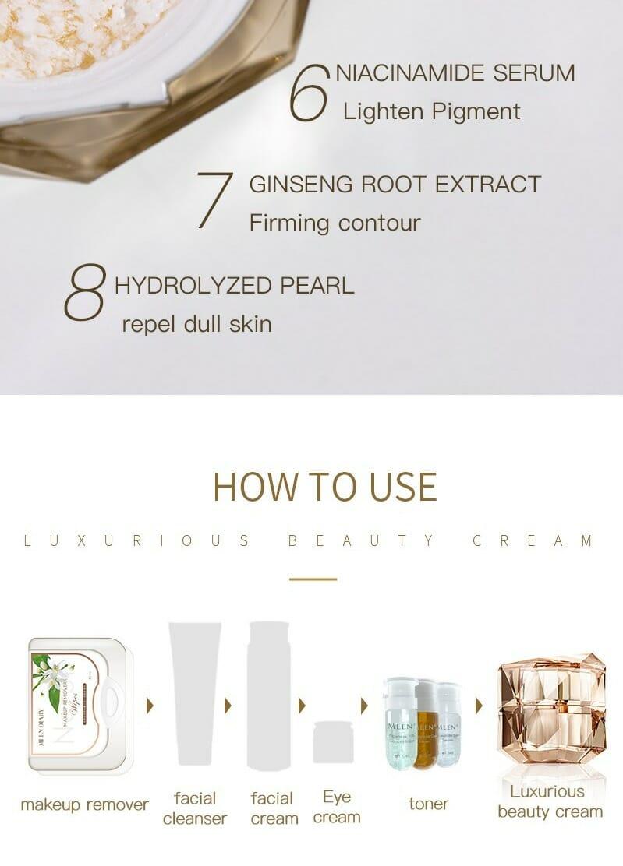 mlen group mlen luxurious beauty cream 16