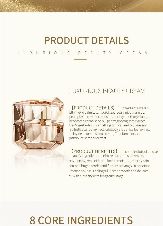 mlen group mlen luxurious beauty cream 8