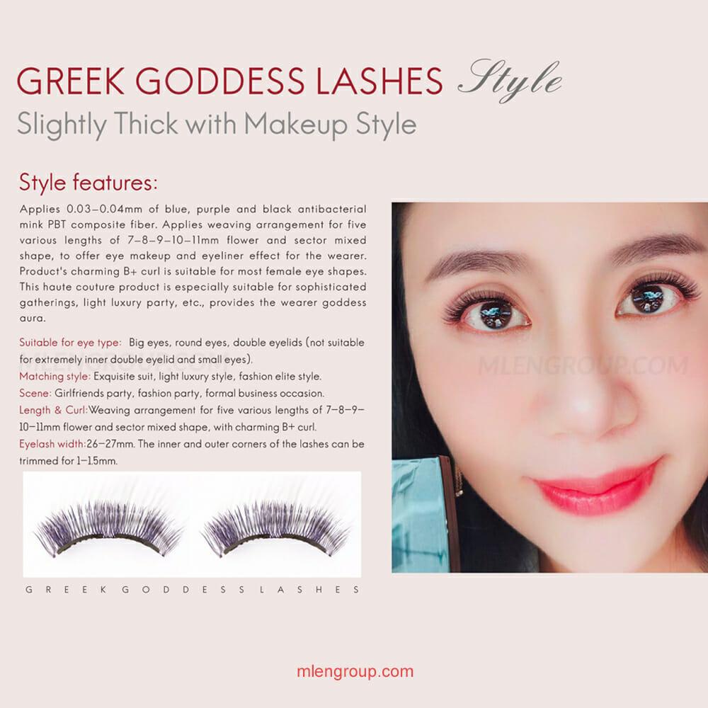 mlen group mlen magnetic eyelashes greek goddess 8