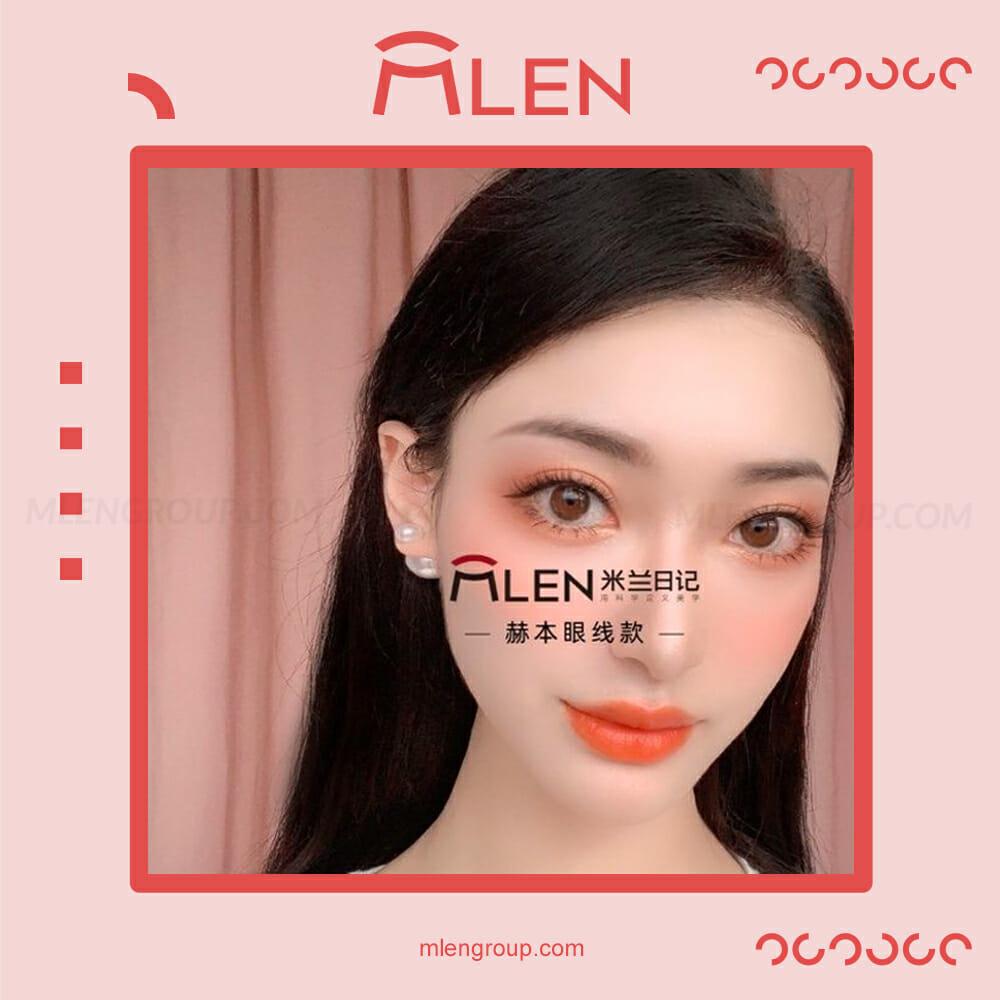 mlen group mlen magnetic eyelashes hepburn's eyeliner 4