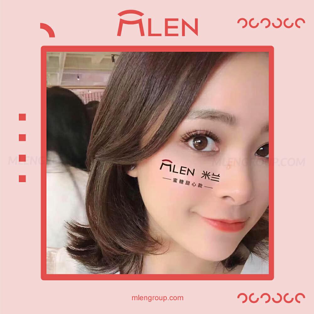 mlen group mlen magnetic eyelashes honey sweetheart 5
