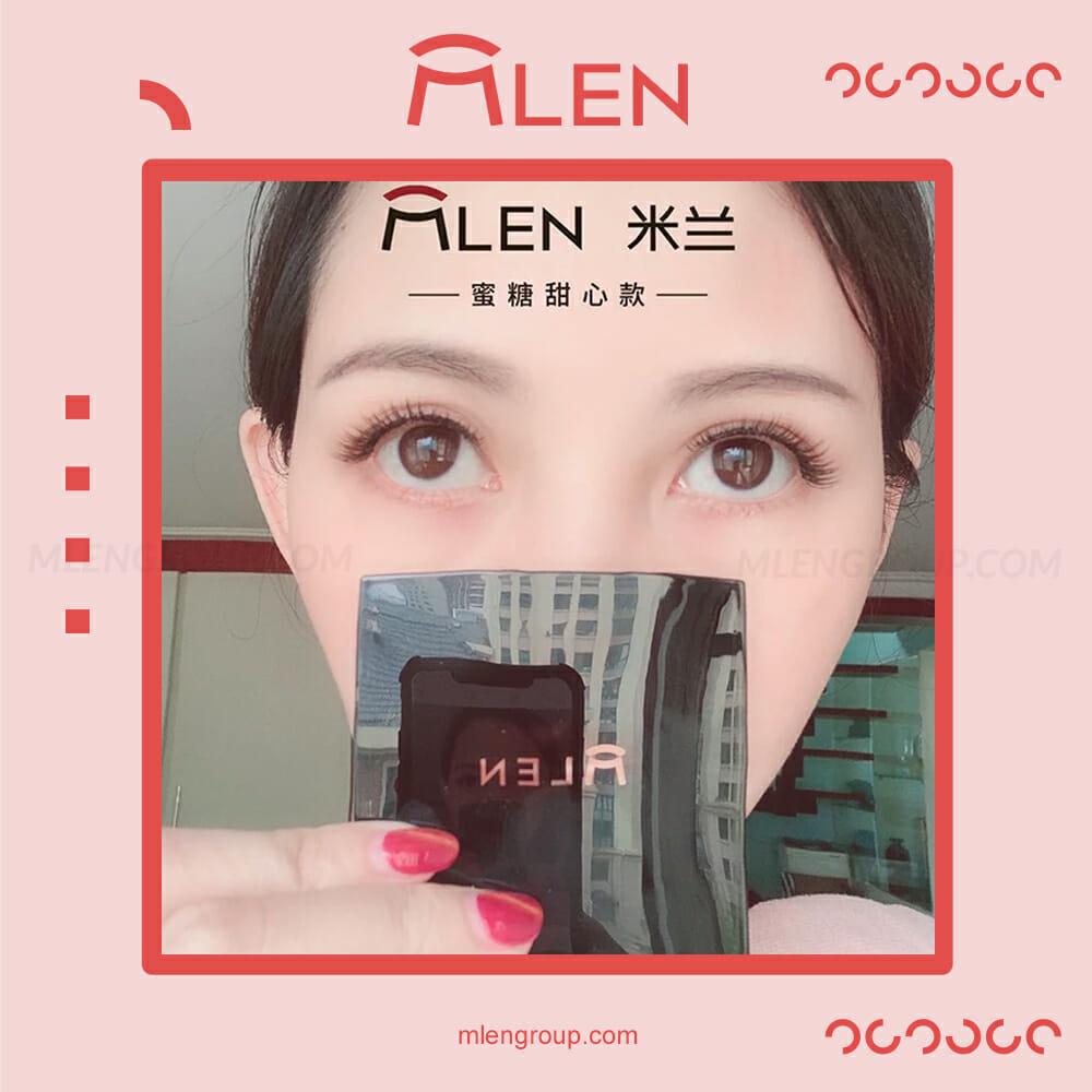 mlen group mlen magnetic eyelashes honey sweetheart 6