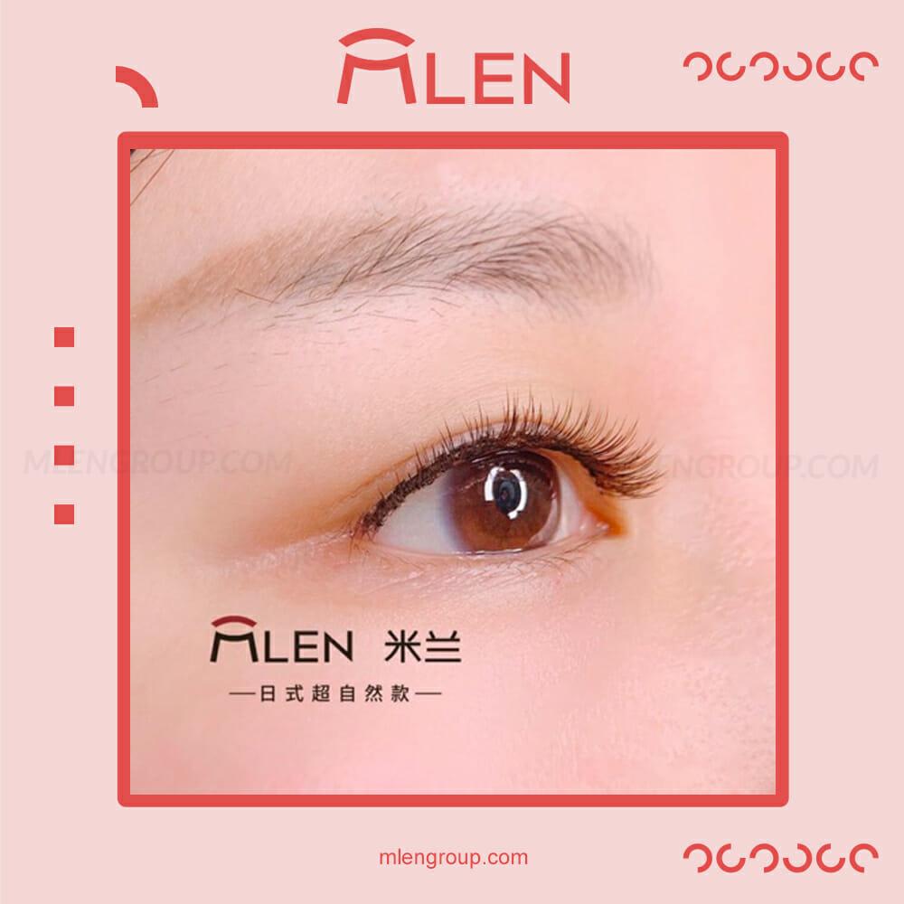 mlen group mlen magnetic eyelashes japanese natural 7