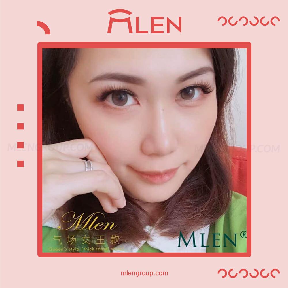 mlen group mlen magnetic eyelashes queen's power 6