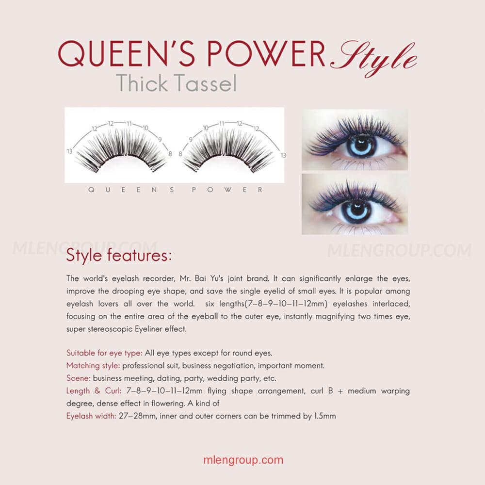 mlen group mlen magnetic eyelashes queen's power 8