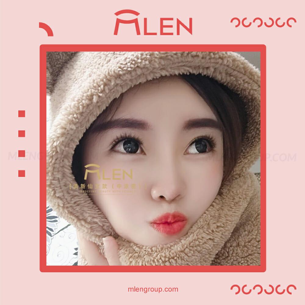 mlen group mlen magnetic eyelashes refreshing fairy style 5