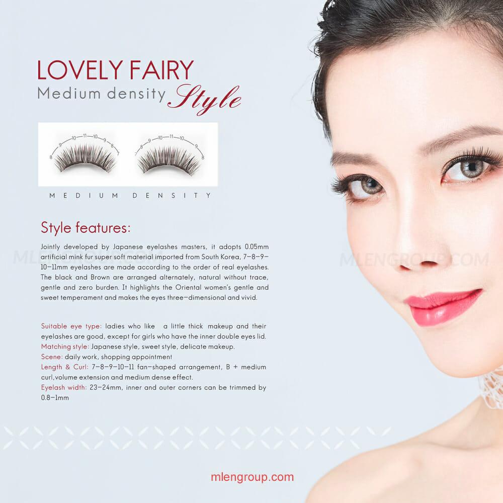 mlen group mlen magnetic eyelashes refreshing fairy style 8