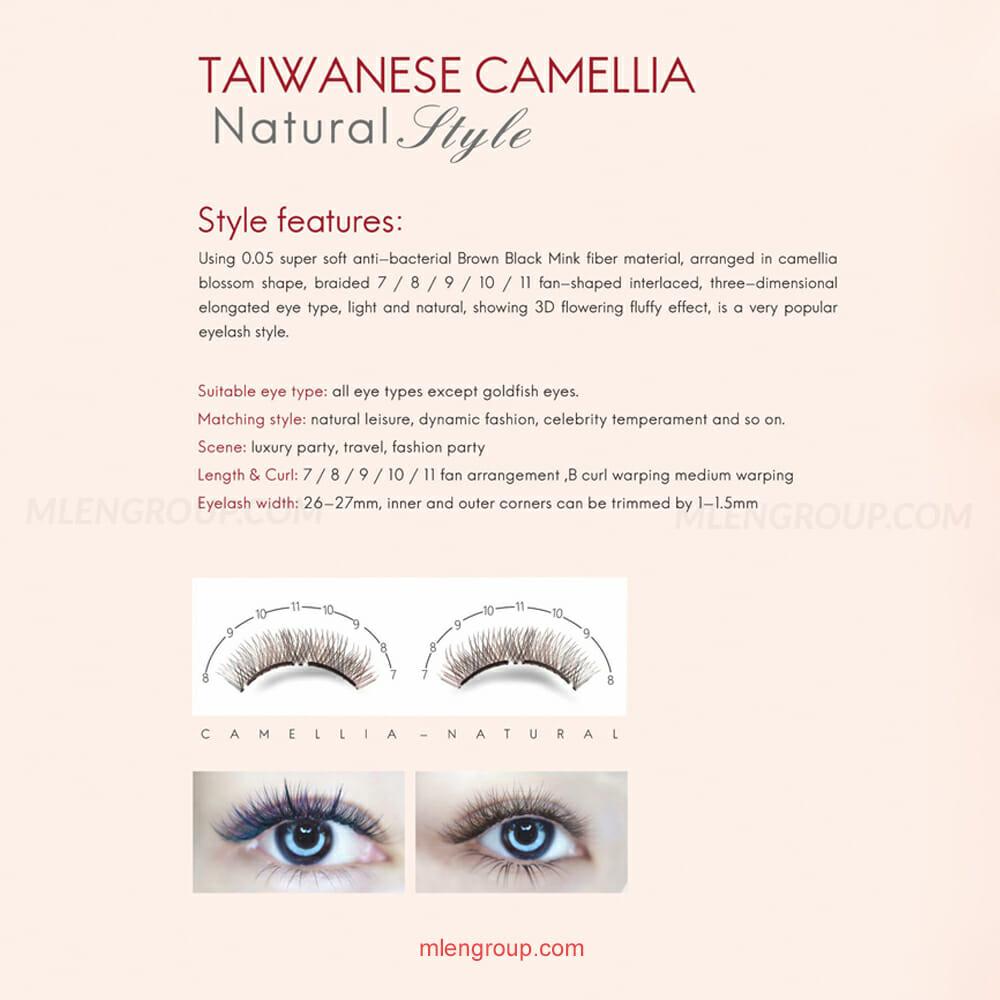 mlen group mlen magnetic eyelashes taiwanese camellia 8