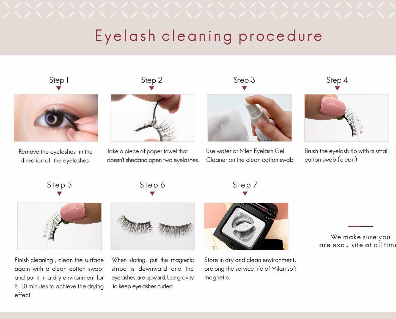 mlen group mlen eyelash cleansing gel (60ml) 5