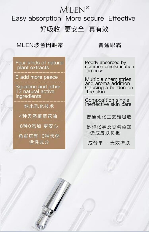 mlen group pro xylane electric massage revitalizing eye cream 10