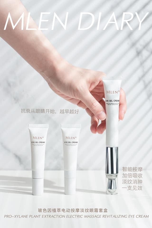 mlen group pro xylane electric massage revitalizing eye cream 16