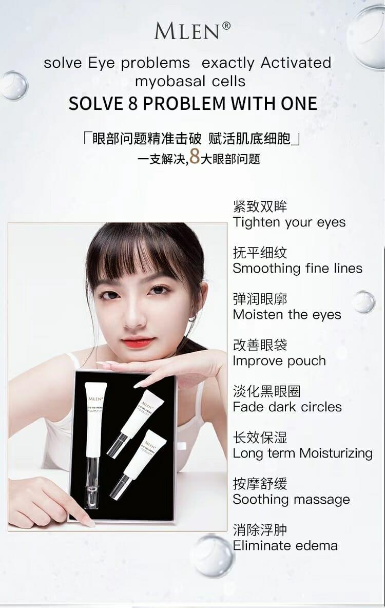 mlen group pro xylane electric massage revitalizing eye cream 4