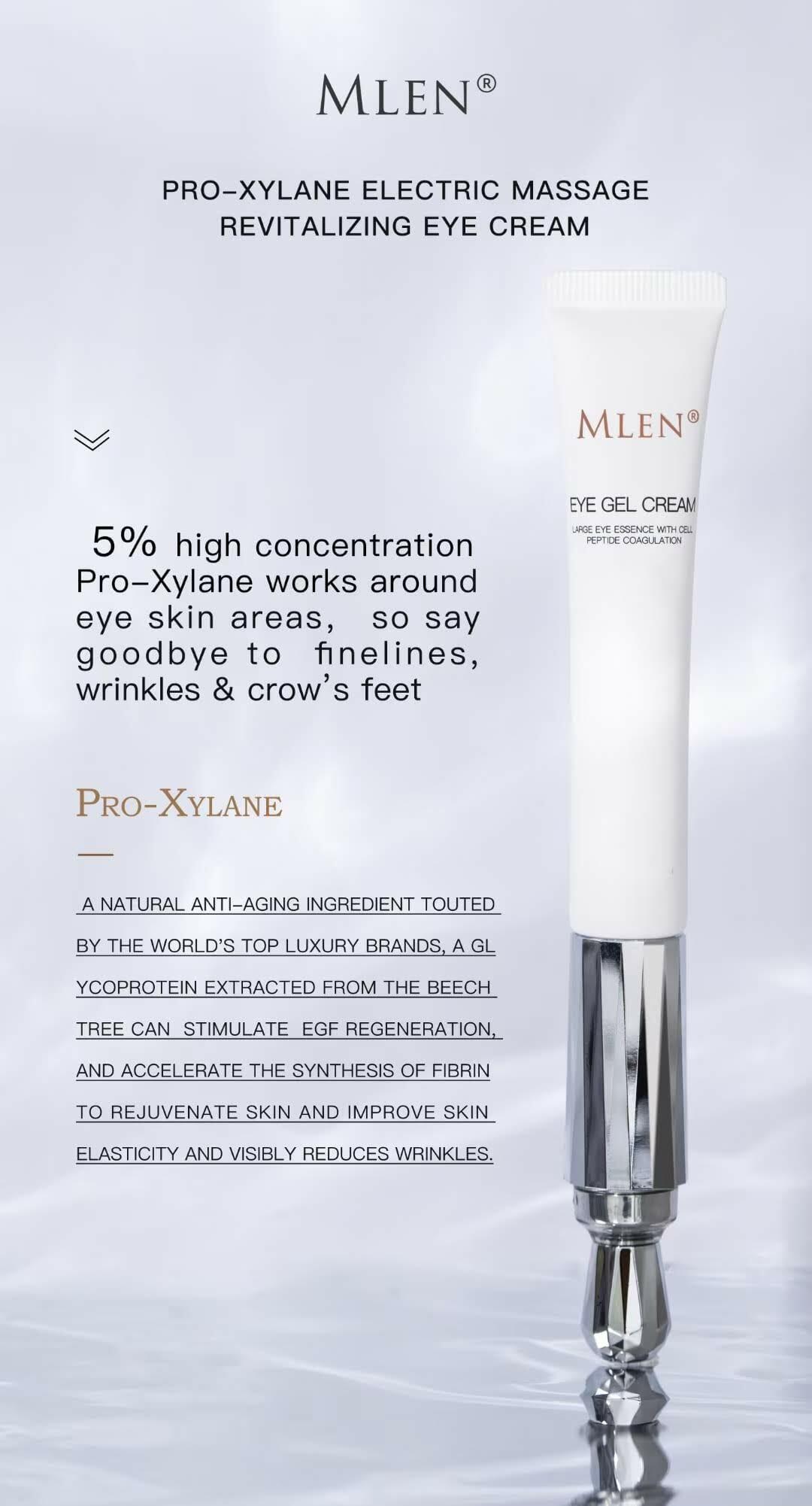 mlen group pro xylane electric massage revitalizing eye cream 5