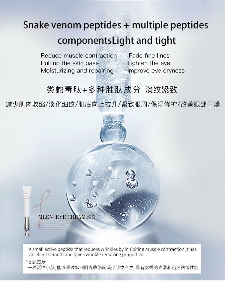 mlen group pro xylane electric massage revitalizing eye cream 9
