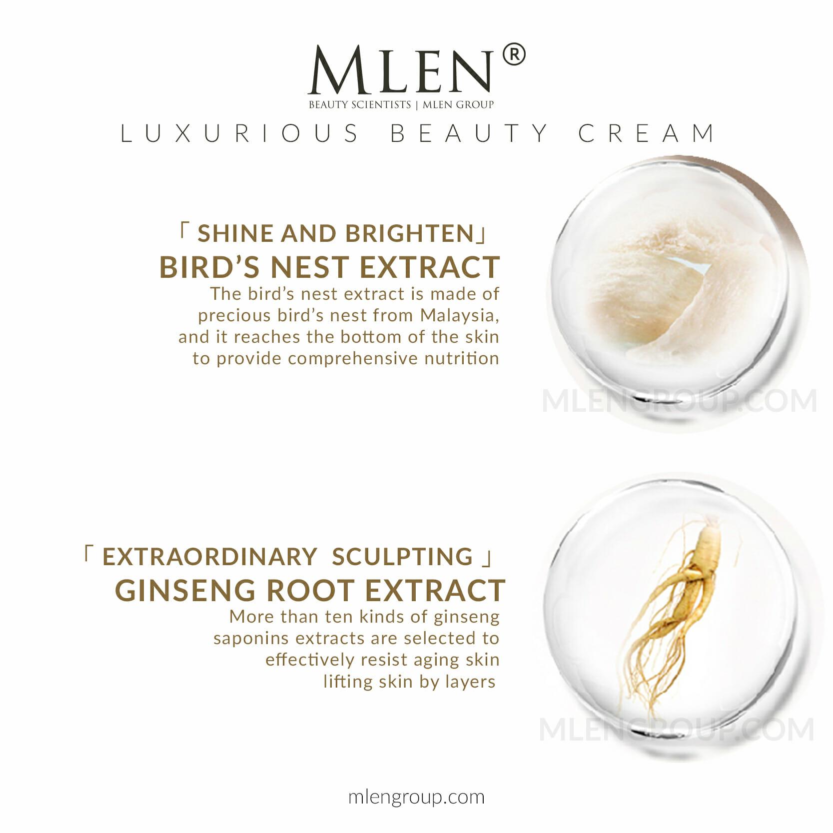 mlen group mlen exclusive set c luxurious beauty cream 7