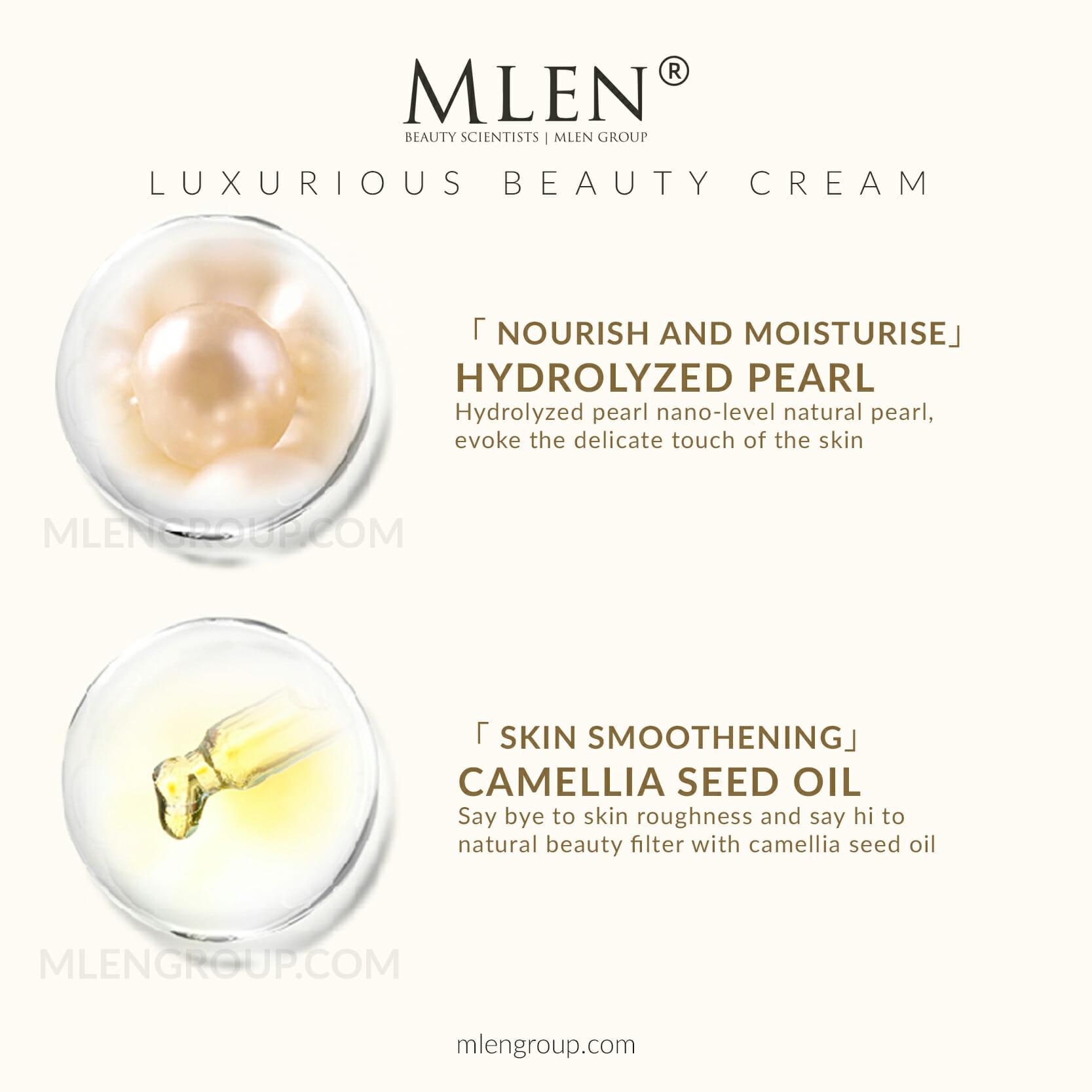 mlen group mlen exclusive set c luxurious beauty cream 8